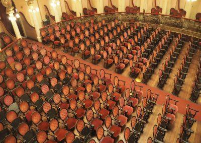 Bis zu 700 Besucher finden im Teatro Platz.