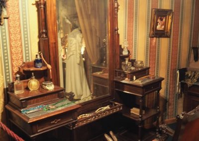 Das Umkleidezimmer einer «Diva».