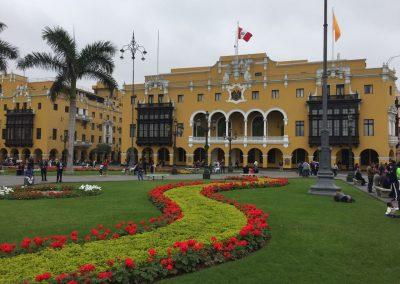 Majestätische Gebäude aus Kolonialzeiten…