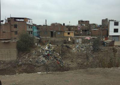 Doch auch die andere - schmutzige - Seite gibt es in Lima.