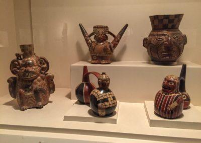 Töpferkunst von längst verganenen Kulturen.