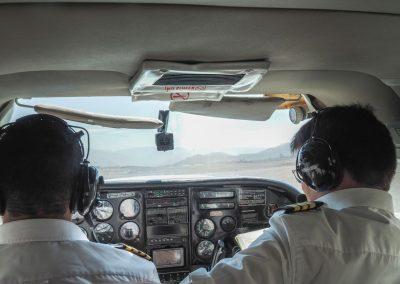 Die Piloten auch.
