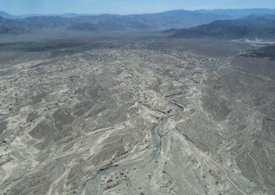 Die Landschaft von oben ist karg, aber dennoch faszinierend.