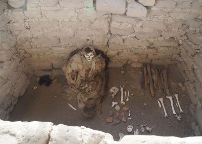 …kann man die toten Vorfahren besuchen und betrachten.