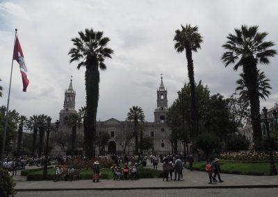 Arequipa, die weisse Stadt.