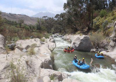 Hifi macht einen Riverrafting Ausflug…