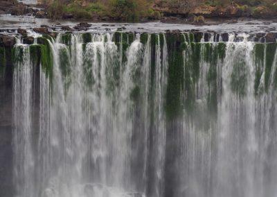 Lange Wasservorhänge…