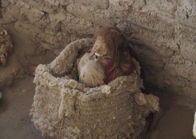 Die Trockenheit hat alles mumifiziert, weshalb es so gut erhalten blieb.
