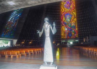 …ist eine modern gestaltete Kirche.