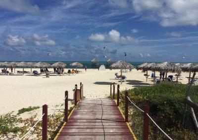 …wo wir ein paar letzte Tage am Strand verbringen.