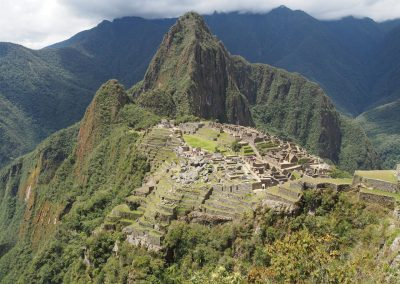 Blick Richtung Wayna Picchu