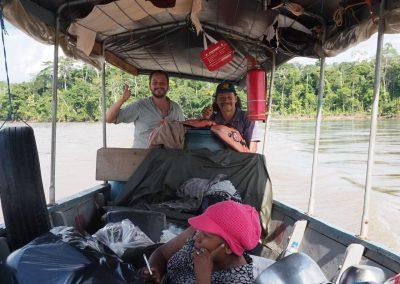 Hifi darf auch mal Motorboot fahren.
