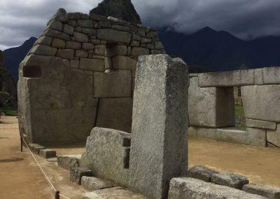 Pata Pata im Tempel der drei Fenster