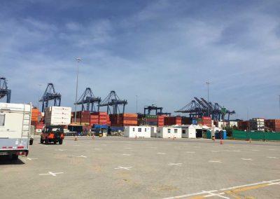Frachthafen-Gelände