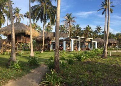 Nicht unser Resort, aber sehr hübsch.