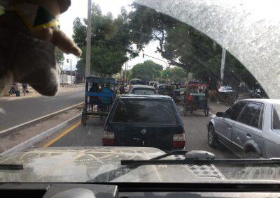 Es braucht etwas Feingefühl durch den Verkehr… oder eben auch nicht.
