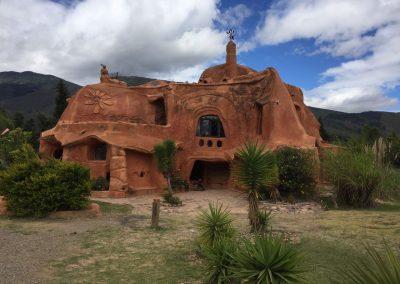 Ein Terracotta-Haus das uns fasziniert