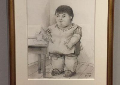 Im Museum des Kolumbianischen Künstlers «Botero»