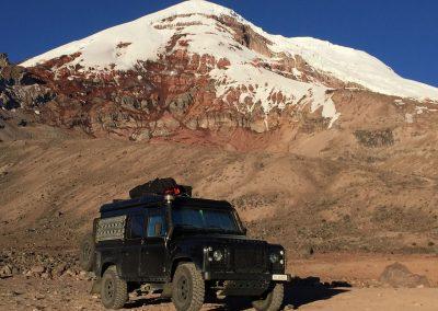 Bergwelt und Vulkane