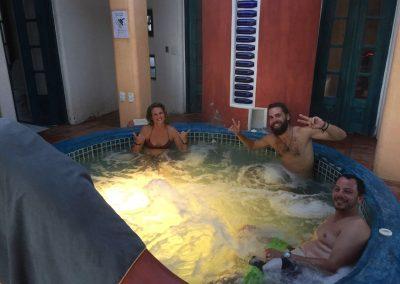Nach einer solchen Wanderung, ist ein Bad im jacuzzi einfach herrlich!!!