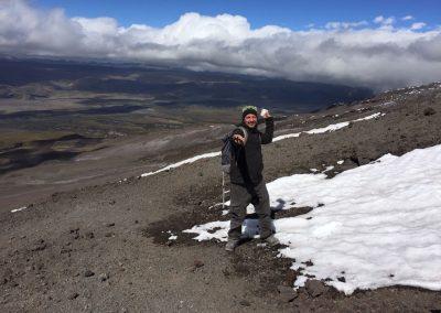 Hifi hat Schnee gefunden.