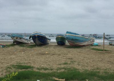 Puerto Lopez ist ein Fischerhafen