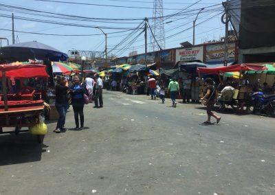 Ein Markt in der Stadt…