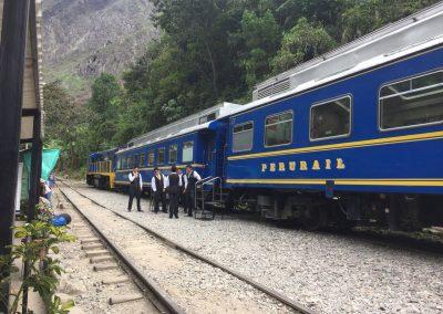 Ein Teil der Zugbegleiter
