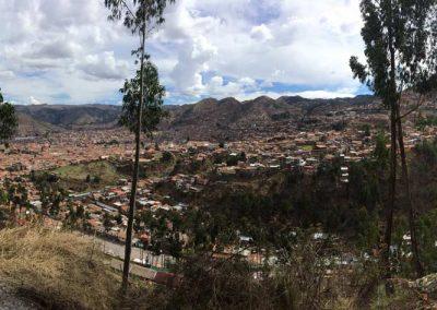 Panorama von Cusco