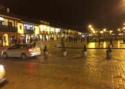 Cusco bei Nacht, hat seinen ganz eigenen Charme.