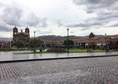 Der Plaza de Armas