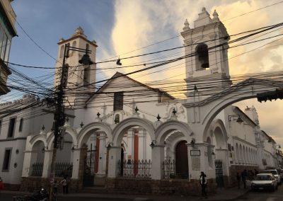 Sucre hat einen wunderschönen Stadtkern.