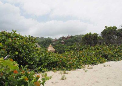 Luxuriöses Resort mit toller Aussicht.