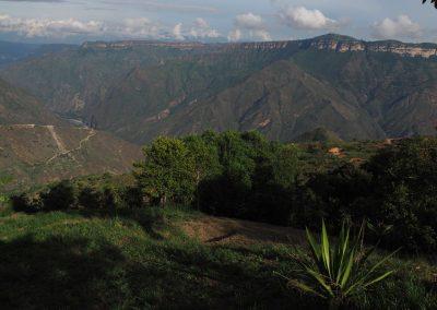 Aussicht über die Bergwelt