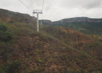 Mit der Seilbahn über Chicamocha schweben