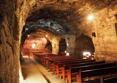 unterirdische Kapelle