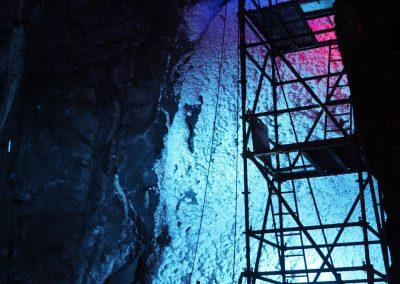 Salz-Wasserfall