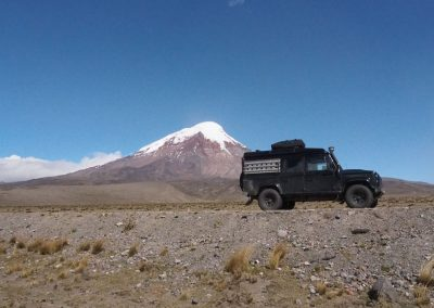 Der Chimborazo…