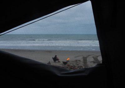 Aussicht aus dem Fenster.