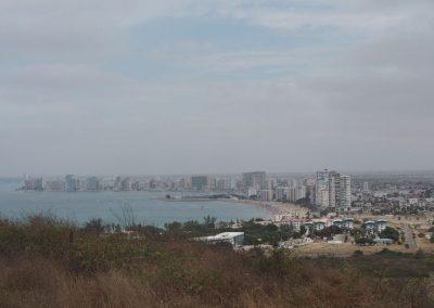 Salinas ist eine beliebte Feriendestiantion an der Küste.