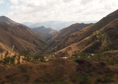 Blick ins Tal des Rio Marañón