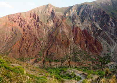 Im Cañón des Rio Apurimac