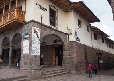 Das letzte Stück der ehemaligen Inka-Mauer, welche um Cusco verlief.
