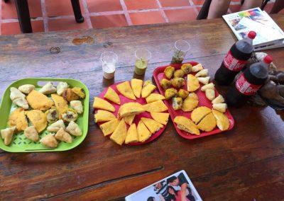 Arepaz, Empanadas, Carimañolas